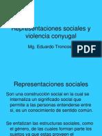 Representaciones Sociales y Violencia Conyugal