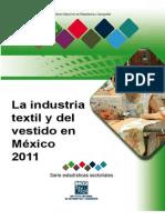 Industria Textil y La de Vestido 2011