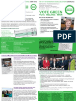 April Leaflet - Melanie Main - MM