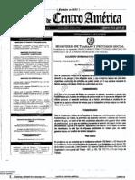 Acuerdo Gubernativo 520-2011 Salario Mínimo para 2012