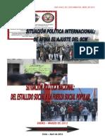 Análisis Internacional-Nacional (Chile), Enero-Marzo 2012