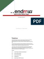 Trendrr.TV March White Paper