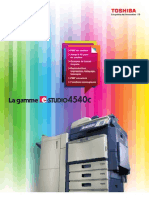 E-STUDIO4540c Brochure FR2011
