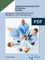 1113 Benchmark Diversity Management 2011