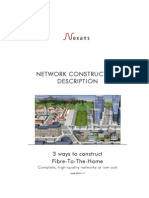 3 Ways to Construct Fibre-To-The-Home