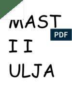 Masti i Ulja