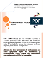 Aminoácidos y Proteínas presentación. COMPUESTA . JIJIJINI