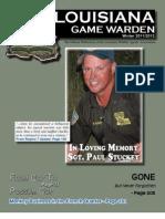 Louisiana Game Warden Magazine - Winter 2011