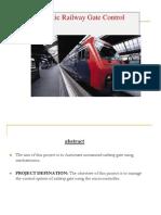 Automatic Railway Gate Control System