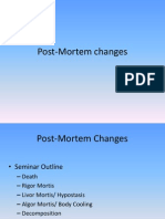 1 - Post mortem changes Part1