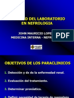 1.Utilidad Del Laboratorio en Nefrologia