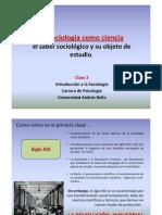 Clase 2 La sociología como ciencia