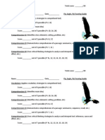 Fly, Eagle. Fly! Assessment Guide