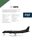 SSS08 0062 Datasheet Saab 2000 MPA