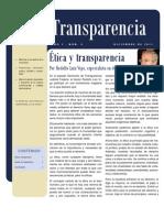 Boletin de Transparencia - Edición Diciembre 2011