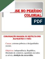 Crise No Period o Colonial