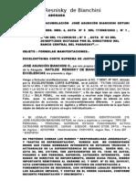 Jose Diciembre Fin Corte Suprema Ganar