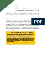 Social Networks Sites-Mini Essay