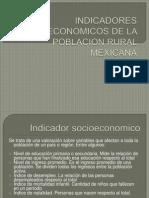 Indicadores Socioeconomicos de La Poblacion Rural Mexicana (1)