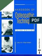 Handbook of Osteopathic Technique