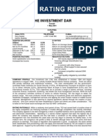 Investment Dar - CI Rating