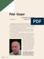 Peter Gasper Entrevista