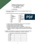 Ejercicios Unidad III Quimica IIL Enero - Mayo 2012