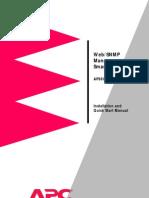 APC Ap9606 Installation Guide