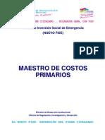 3. Guía No 4 - Costos Unitarios Primarios
