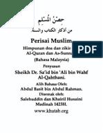 Himpunan Doa Dan Zikir Dari Al-Quran Dan as-Sunnah