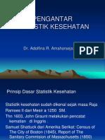 100112 - Statistik Kesehatan
