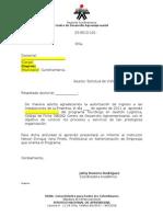 Formato Carta Visita Empresarial 180262