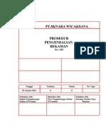 P-13 Prosedur Pengendalian Rekaman (1)
