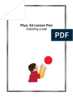 phys ed lesson plan