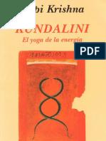 Krishna Gopi - Kundalini El Yoga de La Energia