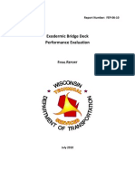 Exodermic Bridge Deck Report