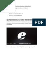 Tutorial de Instalacion Windows XP