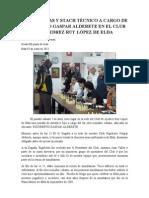 SIMULTANEAS Y STACH TECNICO A CARGO DE RIGOBERTO GASPAR ALDERETE EN EL CLUB DE AJEDREZ RUY LÓPEZ DE ELDA