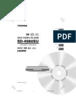 SD-4980 Om e Toshiba Dvd Player