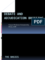 Adjudication Seminar