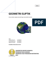 Elliptic Geometry