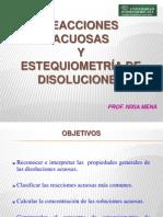 Estequiometria de Disoluciones II-2011
