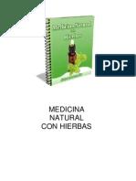 Medicina Natural Con Hierbas