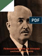 Fernando León de Vivero por Lautaro Sarmiento
