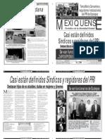 Versión impresa del periódico El mexiquense 9 abril 2012