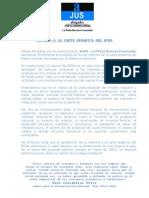 Comunicado Reforma Al Banco Central
