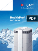 Iqair Healthpro User Manual