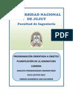 Programa Poo 2012