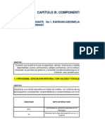Matriz Plan Desarrollo Municipal 2012 Hydamis