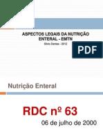 ASPECTOS LEGAIS DA NUTRIÇÃO ENTERAL